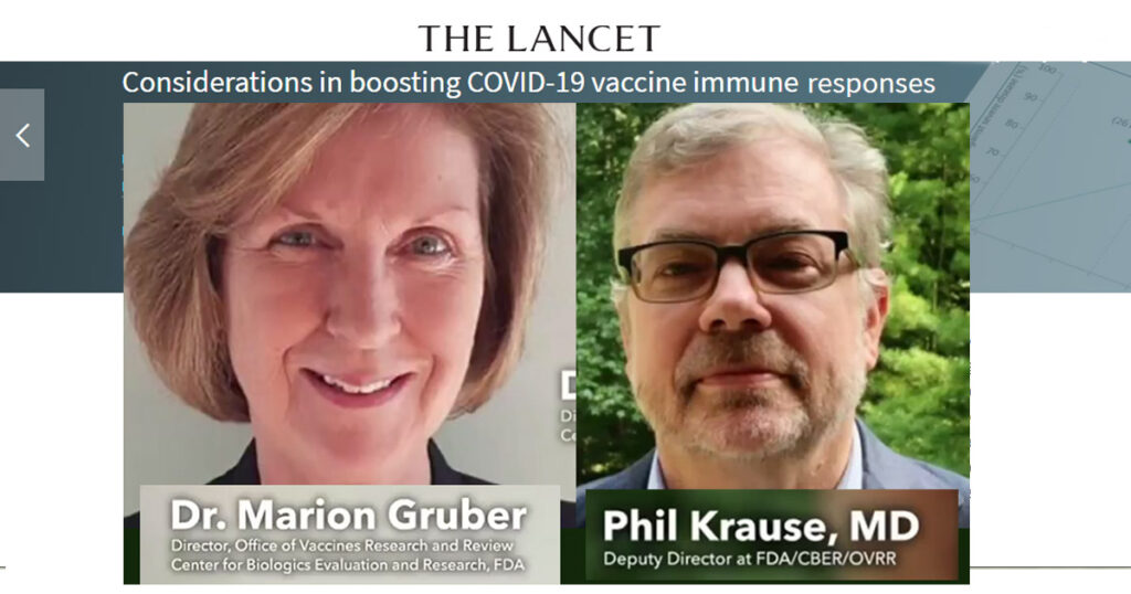 Científicos de la FDA renuncian ante la presión política para aplicar refuerzos de inyecciones  K0 B1T.